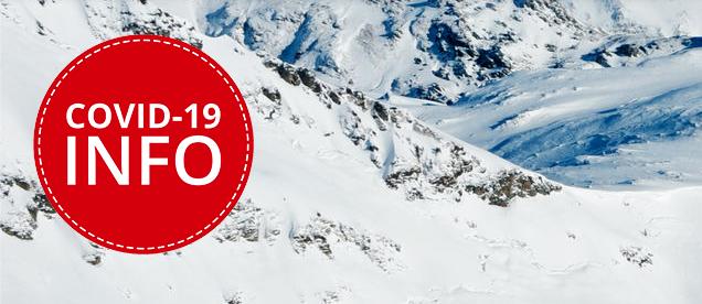 Covid-19: Mit Abstand sicher Skifahren!
